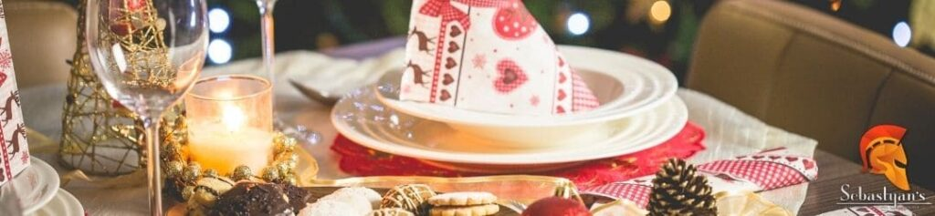 comida navideña en Lanzarote